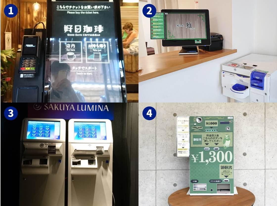 新店舗オープン店のリース導入時負担軽減|券売機の導入事例