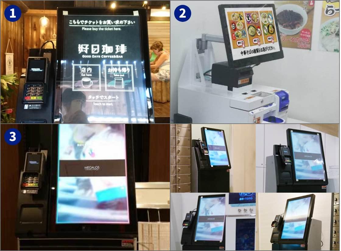 キャッシュレス対応の券売機も各種オプションもすべてリース可能に|券売機の導入事例