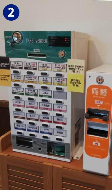 「馬鹿殿」様(大阪府大阪市)の小型券売機